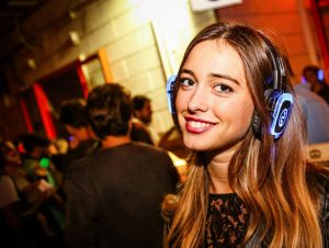 Party con Cascos WiFi en Barcelona